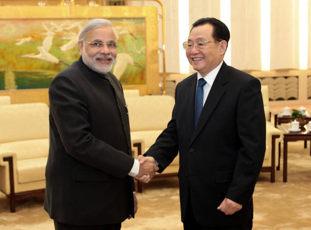 China's reaction to India's new Prime MinisterChina's reaction to India's new Prime Minister