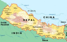 Nepal: sandwiched between India and China
