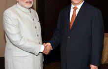 Xi and Modi meet during BRICS summit