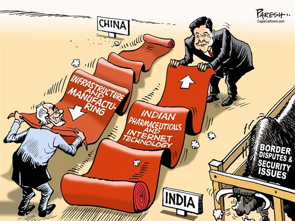 Emerging investment trends between India and China Emerging investment trends between India and China